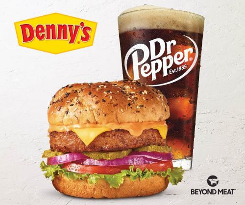 Denny's is giving away free Beyond Burgers. Here's how to get them