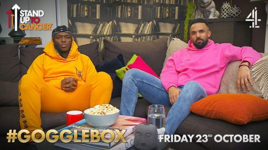 Craig David and KSI join forces for Gogglebox's Stand Up To Cancer special