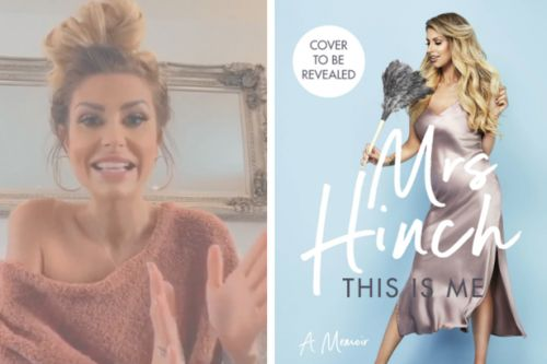 Mrs Hinch cries as she announces memoir release and immediately tops book charts