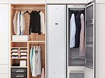 Samsung launches $3,049 AirDresser wardrobe that disinfects and dry cleans clothes between washes