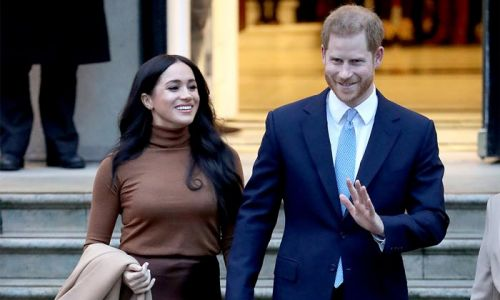 Prince Harry and Meghan Markle donate lunch parcels to veterans in LA