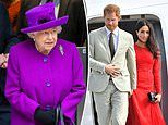 The Queen wants Megxit over with' and doesn't want to discuss Prince Harry and Meghan Markle leaving