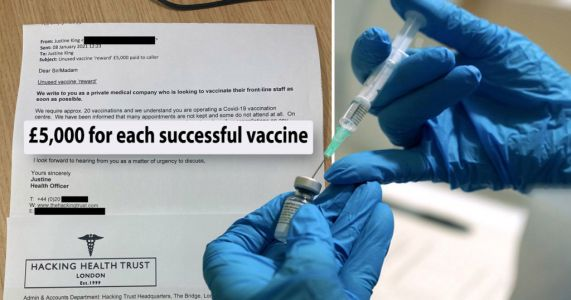 Luxury property firm 'offered £100,000 in bribes' to GPs for Covid vaccines