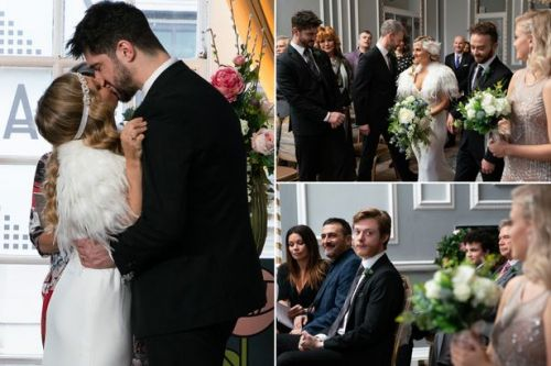 Coronation Street spoiler pics show Sarah Platt and Adam Barlow's gorgeous wedding
