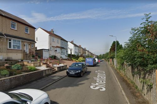 Cops hunt firebugs after couple's car torched outside Glasgow home