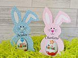 Easter decorations, crafts and personalised gifts available on Amazon