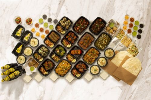 Indian takeaway launches record-breaking set menu with 114 items including a Matt Hancock-inspired curry