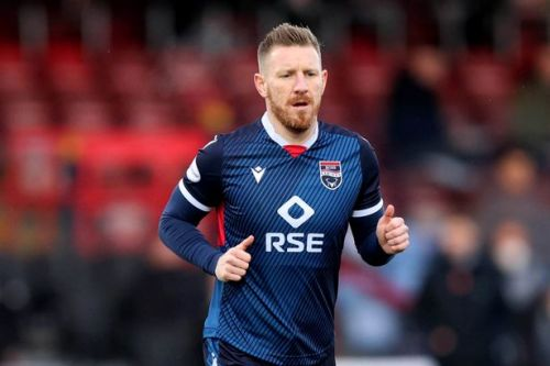 Michael Gardyne insists Kyle Lafferty lucky not to be sent off