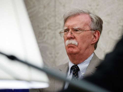 The White House threatened John Bolton to stop him from publishing his book, according to CNN