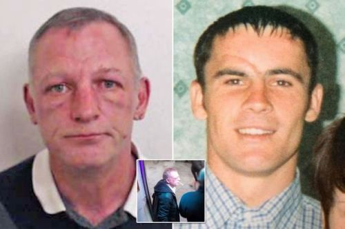 Thug who killed dad with single punch 'winked at victim's family' as he was jailed