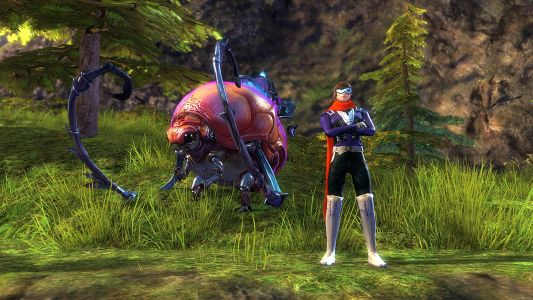 How would a racing game driver fare in Guild Wars 2: The Icebrood Saga?