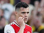 Arsenal news: Granit Xhaka claims side were 'scared' as they collapsed at Watford