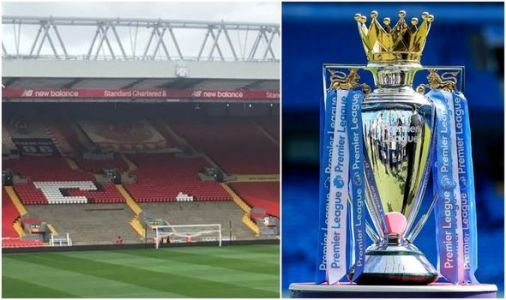 Anfield picture leaks as Liverpool make change to Kop ahead of Premier League trophy lift