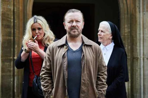 When is season 2 of Ricky Gervais series After Life on Netflix?