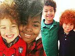 Mother says people accuse her of KIDNAPPING her own son, seven, because he has bright red hair