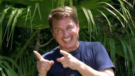I'm A Celebrity's John Barrowman finishes in third place as he sashays out of jungle in an ankle boot
