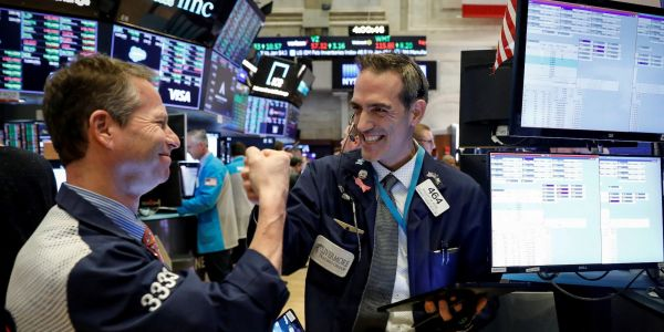 Dow, S&P 500 close at record highs as economic data points to strong reopening