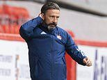 Derek McInnes 'deeply sorry' after two Aberdeen stars test positive for coronavirus after night out