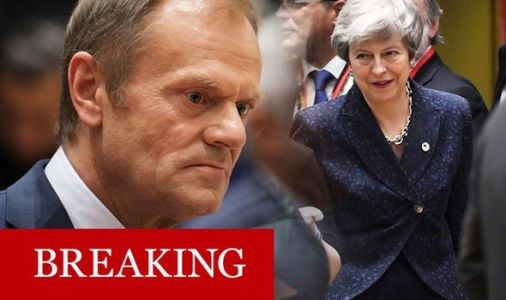 LEAKED document reveals EU plan to restrict May's Brexit delay until May 22