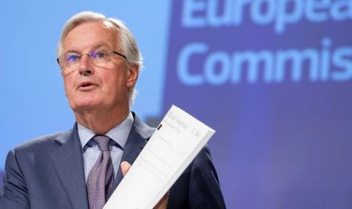 Barnier issues Brexit ultimatum as he demands UK back down or he will WALK AWAY from talks
