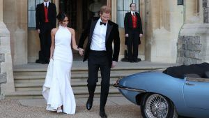 Prince Harry and Meghan Markle's royal wedding reception was modern AF