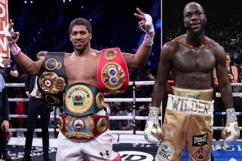 Deontay Wilder reluctant to travel to the UK to fight Anthony Joshua