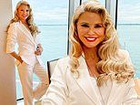 Christie Brinkley, 66, stuns in white as she shares her photo album from a luxurious cruise