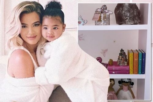 Khloe Kardashian's daughter True's book collection already boasts Jane Austen classics