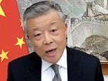 China's ambassador to Britain DENIES Covid cover-up and says now isn't the time for WHO probe