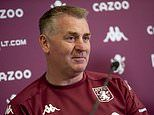 Aston Villa boss Dean Smith expects home advantage to return when fans are back in the ground