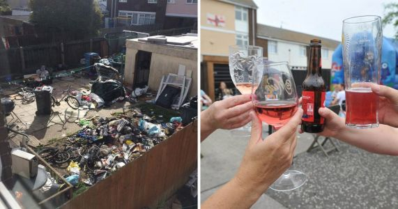 Street party thrown after 'neighbour from hell' is evicted over £25,000 of damage