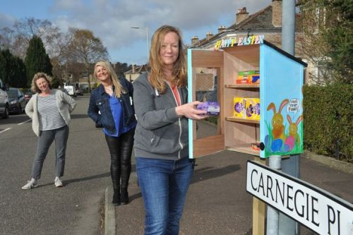 Community council rolls out Easter egg boxes to spread some joy amid pandemic