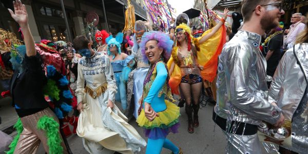 The mayor of coronavirus-plagued New Orleans took a shot at Trump, saying the city would have canceled Mardi Gras if the federal government had taken the outbreak seriously