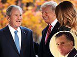 George W. Bush wont vote for President Trump's in November's election with many in GOP thinking same