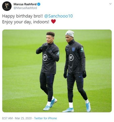 """""""Agent Rashy!"""" - Man United star's tweet gets these fans excited about potential transfer"""