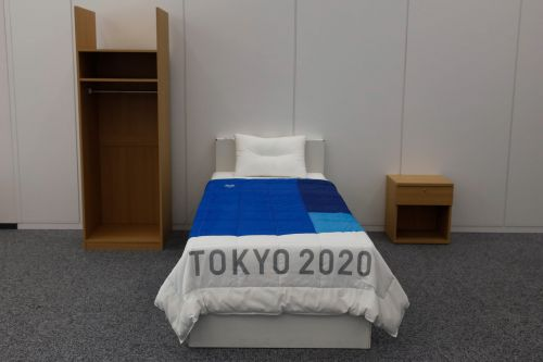 Tokyo Olympic organizers are handing out more than 150,000 condoms to athletes - but also asking recipients not to use them at the Olympic village