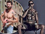 Shia LaBeouf 'got his whole chest tattooed' to better play 'Cholo' gangster in The Tax Collector