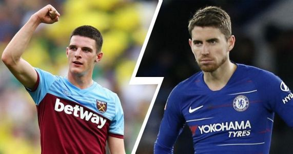 Chelsea open to Juventus offers for Jorginho and will use the money to sign Declan Rice