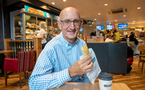 Greggs boss skips his sausage rolls and steak bakes in attempt to 'go vegan'
