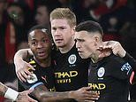 Arsenal 0-3 Manchester City: Kevin De Bruyne puts on a masterclass with brace