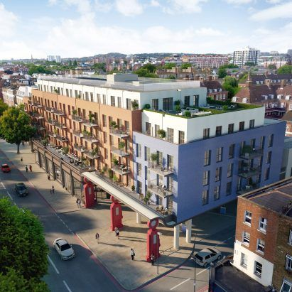 Lyons Place by Farrells set to be London's first housing to accept drone deliveries