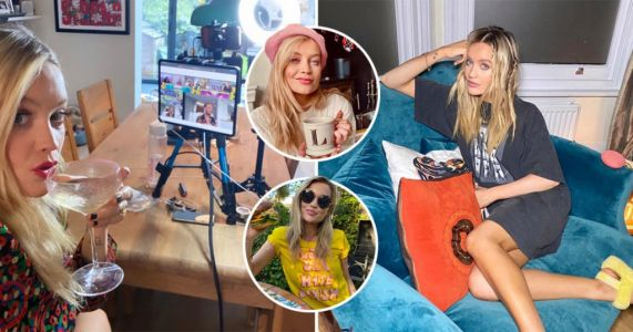 Inside Laura Whitmore's boho North London home where she is self-isolating with boyfriend Iain Stirling