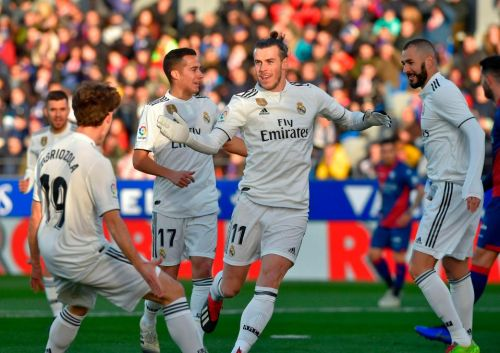 Gareth Bale nets only goal of game to keep side within reach of leaders Barcelona