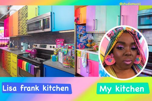 A Lisa Frank hotel pop-up sold out in less than an hour. An independent artist living next door says it's a rip-off of her Insta-famous apartment