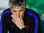 Quique Setien says Barcelona are treating Eibar clash like a cup final ahead of tough run of games
