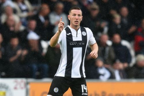 Kyle McAllister to miss St Johnstone game as he recovers from back injury