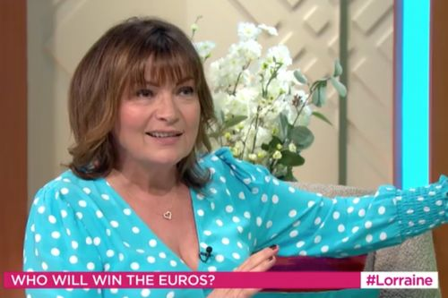 Lorraine Kelly taunted by Susanna Reid and Richard Madeley for Scotland score