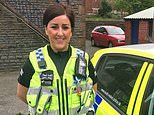 Policewoman, 28, is allowed to keep her job after she performed sex acts on married sergeant