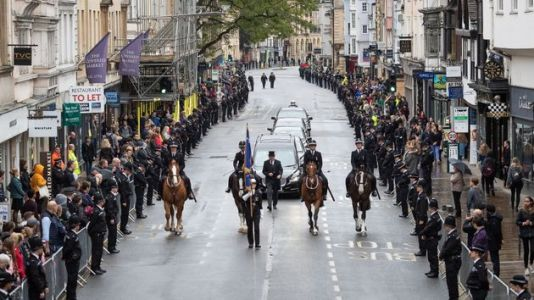 PC Andrew Harper Funeral: Police Line The Streets To Mourn 'Brave, Genuine And Kind' Officer