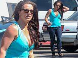 Britney Spears looks pensive as she heads to the tanning salon amid ongoing family drama